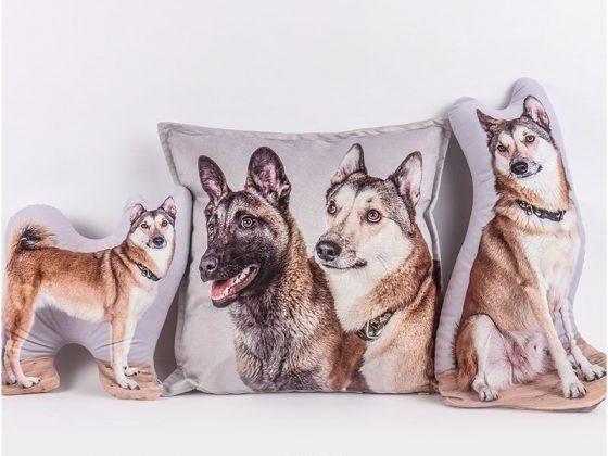 """Personalizuota pagalvėlė """"Mano augintinis – šuo"""""""