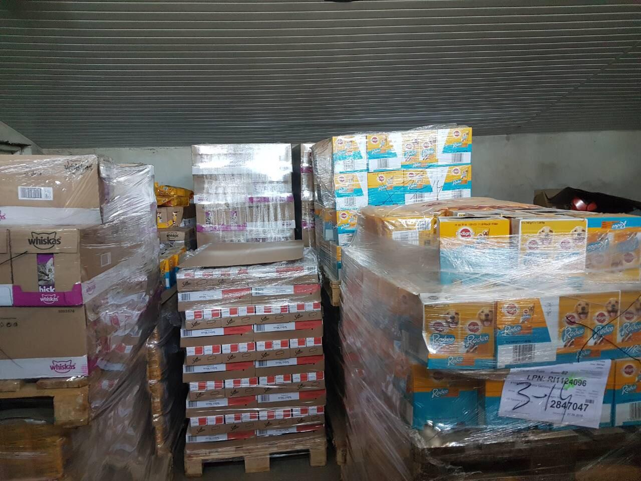 """Birželio viduryje VŠĮ """"Gyvūnų gerovės iniciatyvos"""" (toliau – GGI) susivienijo su UAB """"Mars Lietuva"""" dar vienai maisto dalinimo akcijai ir padovanojo gyvūnų prieglaudoms beveik 1200 kilogramų maisto."""