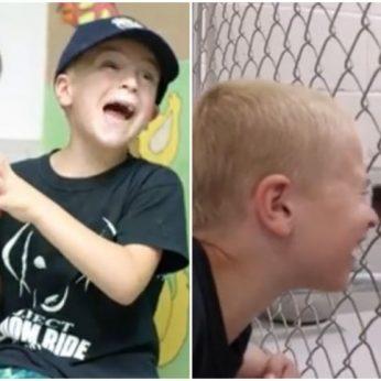 Septynmetis berniukas padėjo išgelbėti daugiau nei 1300 gyvūnų