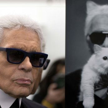 Mirus mados pasaulio legendai K. Lagerfeldui – netikėta žinia: jo katė gali paveldėti milijonus