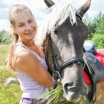 Krikščioniška vasaros stovykla Žirgai gamta ir aš