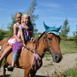 Vaikų vasaros stovykla su žirgais