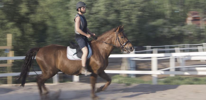 Žirgų nuoma bernvakariui