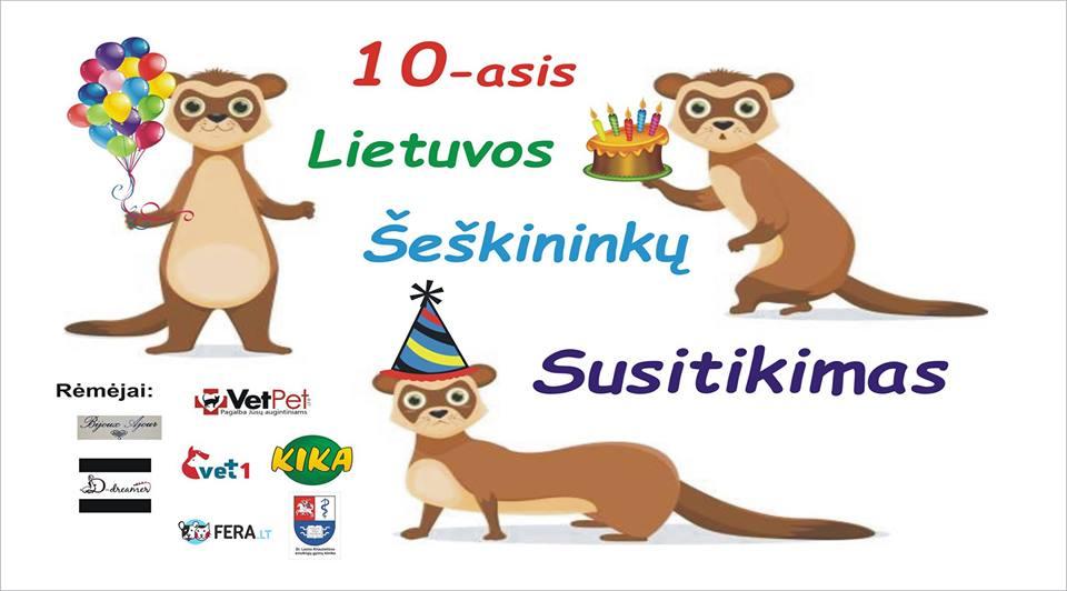10-sis Didysis Lietuvos Šeškininkų Susitikimas