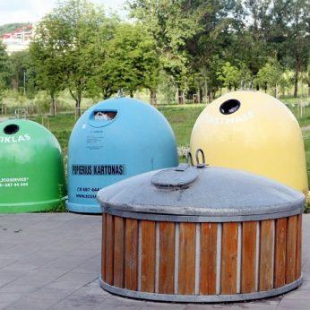 Viename Kauno požeminių šiukšlių konteinerių aptiktas stebinantis radinys
