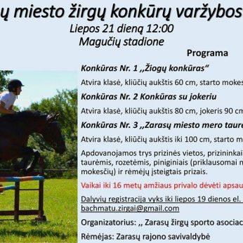 Zarasų miesto žirgų konkūrų varžybos
