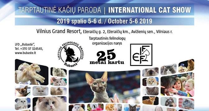 Tarptautinė kačių paroda/ International Jubilee Cat Show