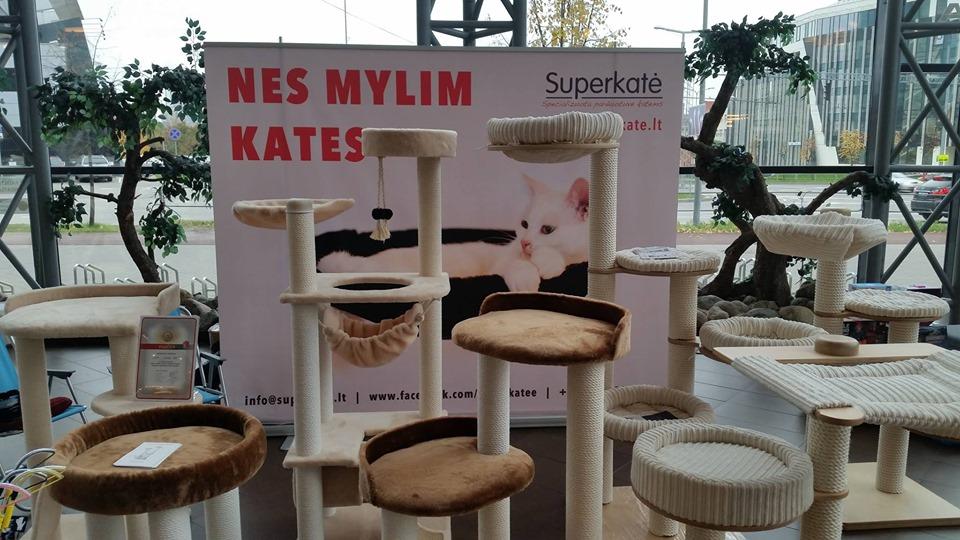 Kačių paroda Panoramos prekybos centre su Superkate