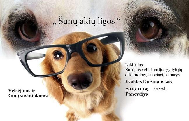 Seminaras - Šunų akių ligos