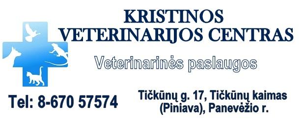 """Kristinos veterinarijos centras visus esamus ir būsimus šunų augintojus kviečia į seminarą """"Sveiko šuns auginimo pagrindai""""."""