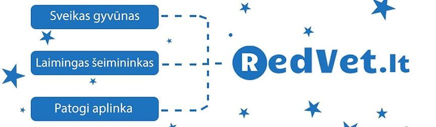 RedVet.lt – elektroninė platforma, kurioje galite užsisakyti tik aukščiausių klasių produktus augintiniams, kaip gyvūnų maistas, papildai, pavadėliai ar kitos, kasdien naudojamos, apyvokos prekės