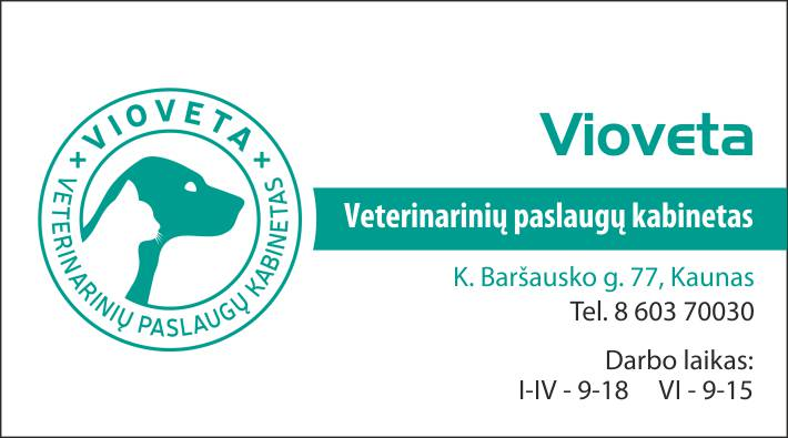 Vioveta veterinarijos klinika Kaune