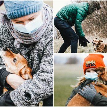 Vietoje nenustygstantį šunelį išgelbėjusi šeima: keista pagalvojus, kad jis turėtų būti miręs