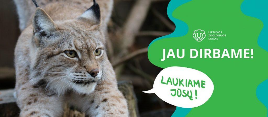 Lietuvos zoologijos sodas atveria vartus ir kviečia apsilankyti