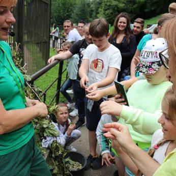 Tarptautinė vaikų gynimo diena zoologijos sode